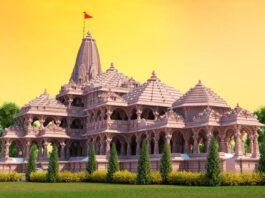 अयोध्या में भव्य राम मंदिर का निर्माण जोर-शोर से